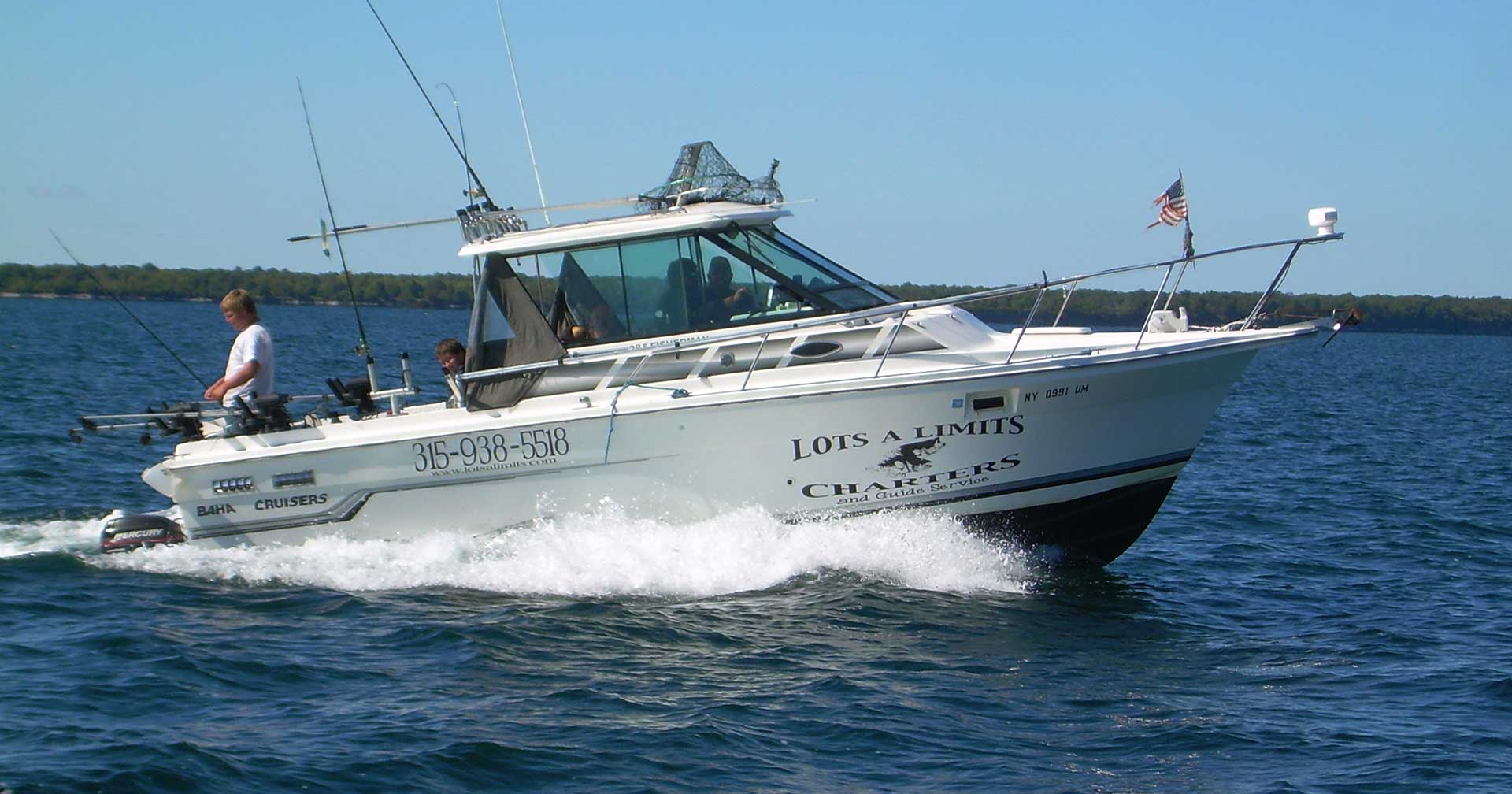 Lake ontario fishing guides charter services in for Lake ontario salmon fishing charters